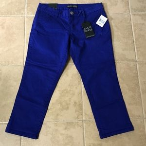 NWT Almost Famous Skinny Cropped Jeggings